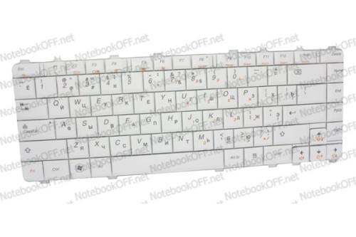 Клавиатура для ноутбука Lenovo V460, Y450, Y460, Y550, Y560 Белая фото №1