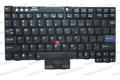 Клавиатура для ноутбука IBM X60, X61 фото №1