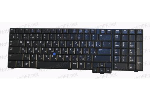 Клавиатура для ноутбука HP Compaq 8710p, 8710w фото №1