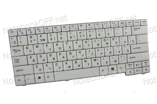 Клавиатура для ноутбука LG E200, E300. Светло-серая фото №1