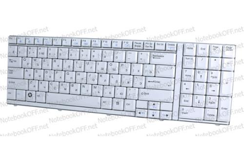 Клавиатура для ноутбука LG R710 (white) фото №1