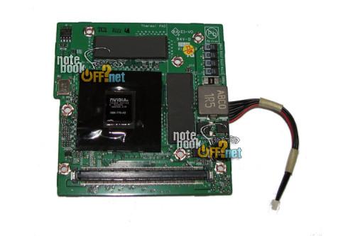 Видеокарта для ноутбука LG R400, R500 8600M GS 256 Мб (G86-771-A2) фото №1