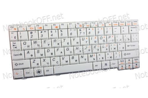 Клавиатура для ноутбука Lenovo S10-2, S100c (white) фото №1