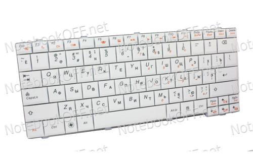 Клавиатура для ноутбука Lenovo S12 (white) фото №1