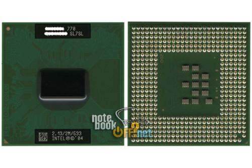 Процессор для ноутбука Intel® Pentium® M 770 (SL7SL)