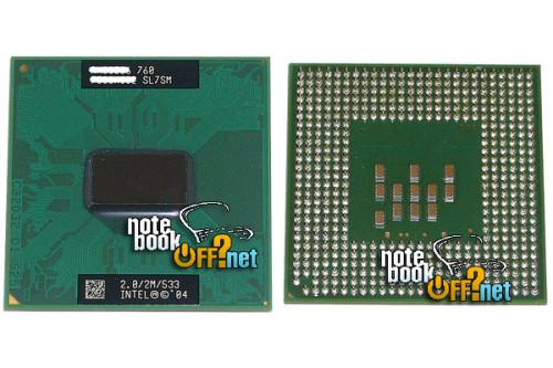 Процессор для ноутбука Intel® Pentium® M 760 (SL7SM)