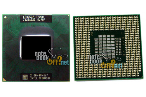 Процессор для ноутбука Intel® Core™2 Duo Mobile T7200 (SL9SF) фото №1