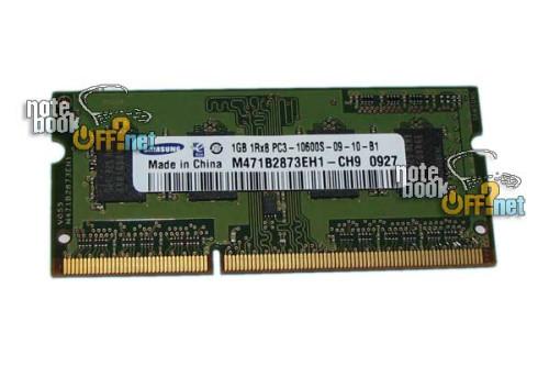 Модуль памяти для ноутбука SO DIMM DDR3 1024 Мб/ 1Гб