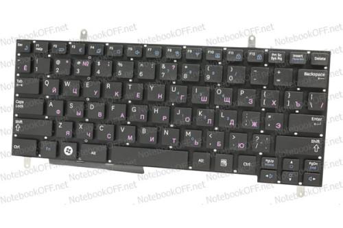 Клавиатура для ноутбука Samsung N210, N220. Белая фото №1