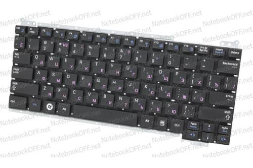 Клавиатура для ноутбука Samsung NC110. Черная фото №1