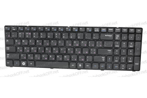 Клавиатура для ноутбука Samsung R578, R580 (с фреймом)