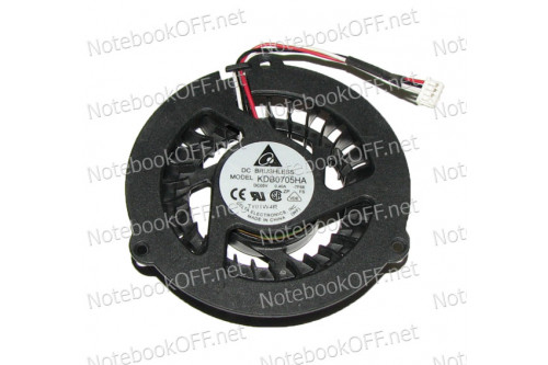 Вентилятор (кулер) для ноутбука Samsung R70, R518, R560, P208, P210, Q208, Q210 фото №1