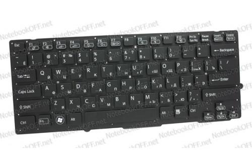 Клавиатура для ноутбука Sony VPC-SA, VPС-SB, VPC-SD Series (black, без фрейма) фото №1