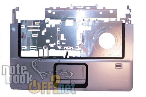 Корпус (верхняя часть, TOP CASE) для ноутбука HP Pavilion dv6000 фото №1