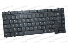 Клавиатура для ноутбука Toshiba Satellite M300, L300, S300 (черная матовая)