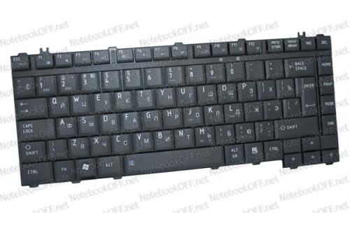Клавиатура для ноутбука Toshiba Satellite M300, L300, S300 (черная матовая) фото №1