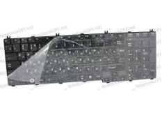 Клавиатура для ноутбука Toshiba Satellite C650, L650, L670 Черная глянец АНАЛОГ 05907
