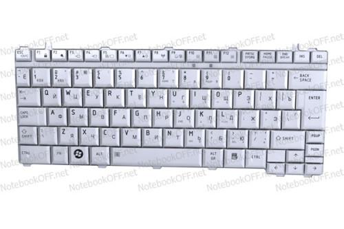 Клавиатура для ноутбука Toshiba Satellite U400, U405, M800 Серебристая фото №1