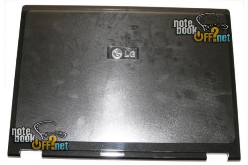 """Kрышка матрицы (COVER LCD) 15.4"""" для ноутбуков LG серии E500. Черная глянцевая. фото №1"""