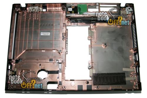 Корпус (нижняя часть, COVER LOWER) для ноутбука HP Probook 4310s