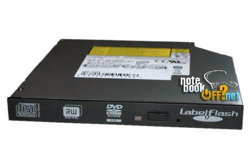 Slim PATA (12 мм) DVD-пишущий привод (DVD-RW, DVD-RAM) фото №1
