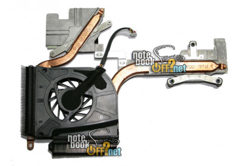 Термомодуль (кулер UDQFZZH10DQU) для ноутбука HP Pavilion dv6000 фото №1
