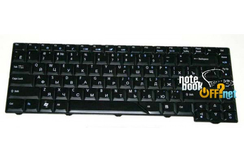 Клавиатура для ноутбука Acer Aspire 4935, 6920, 6935. Глянцевая фото №1
