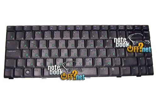 Клавиатура для ноутбука Asus A8, W3, F8, Z99, X80