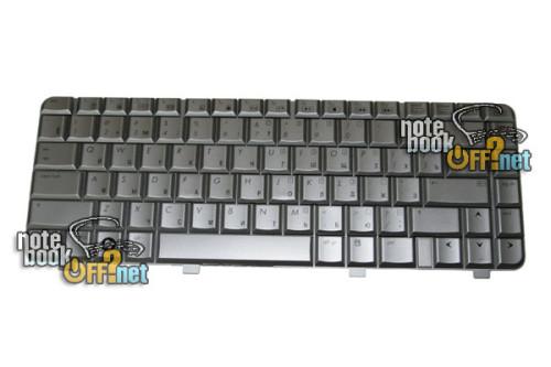 Клавиатура для ноутбука HP Pavilion dv4-1000, dv4-2000 (silver) фото №1
