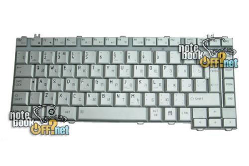 Клавиатура для ноутбука Toshiba Satellite A200 (silver) аналог 01592 фото №1