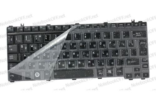 Клавиатура для ноутбука Toshiba Satellite U400, U405, M800 Черная глянец