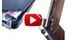Ремонт корпуса ноутбука (видео)