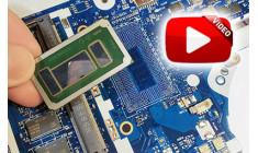 Замена процессора i3, i5, i7 в ноутбуке (видео)