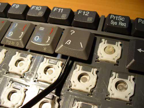 Ремонт клавиатуры своими руками Asus 1005