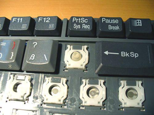 Ремонт кнопок клавиатуры своими руками 15